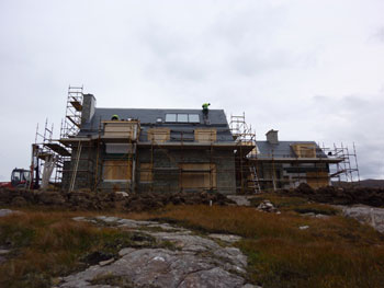 New build at Applecross, West Coast